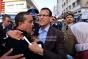 مكفوفون يحتجون أمام البرلمان المغربي