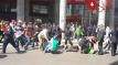 تدخل  أمني عنيف ضد مسيرة المعطلين في فاتح ماي